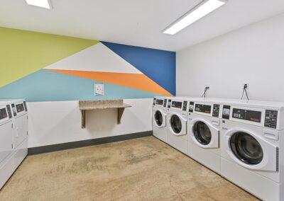 Laundry facility amenity