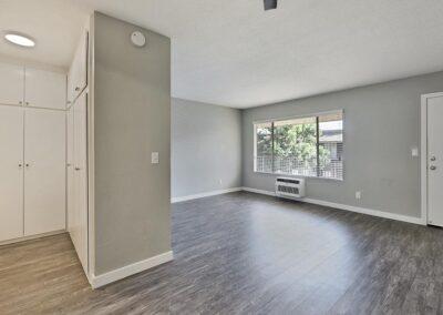 Spacious living area with open floorplan