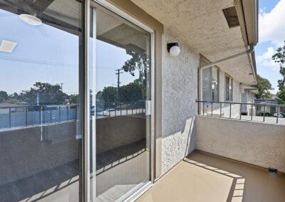 Back patio sliding doors